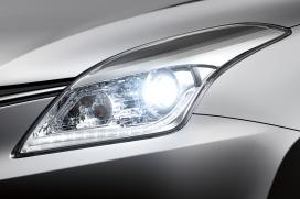 Reflektory biksenonowe Światła do jazdy dziennej LED