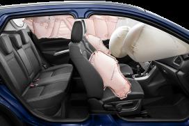 Wzorowy poziom bezpieczeństwa 7x airbag + ESP® z kontrolą trakcji