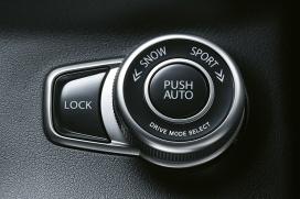 Zaawansowany napęd na 4 koła ALLGRIP 4 tryby pracy: AUTO – SPORT – SNOW – LOCK