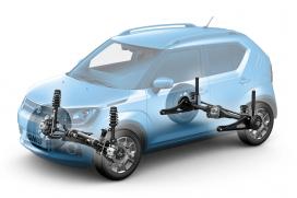 Napęd na 4 koła ALLGRIP AUTO Wspomaganie podjazdu i zjazdu HHC-HDC