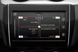 Zestaw multimedialny z nawigacją Tylna kamera cofania