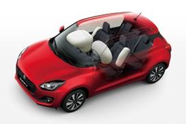 Wzorowy poziom bezpieczeństwa 6x airbag + ESP® z kontrolą trakcji