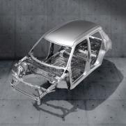 Ultralekka i wytrzymała platforma HEARTECT Tylko 975 kg całkowitej masy własnej