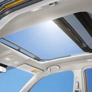 Panoramiczne okno dachowe Dostępne w wersji Elegance Sun