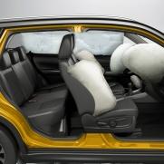 Wzorowy poziom bezpieczeństwa 7x airbag + ESP®z kontrolą trakcji