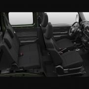 Kabina pasażerska dla 4 osób Przednie oparcia składane na płasko