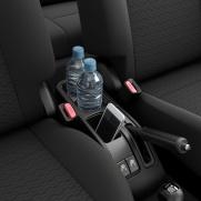 Użyteczne wnętrze Pojemnik na butelki i smartfona