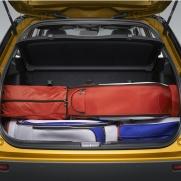 Pojemny i funkcjonalny bagażnik (375 l) System pPojemny i funkcjonalny bagażnik (375 l) System podwójnej podłogi