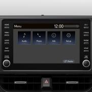 """Urządzenie multimedialne z 8"""" ekranem Obsługuje Apple CarPlay i Android Auto"""