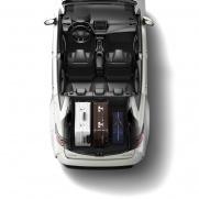 Bagażnik o pojemności 596 litrów System podwójnej, płaskiej podłogi