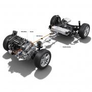 Silnik benzynowy + elektryczny Łączna moc układu hybrydowego: 122 KM